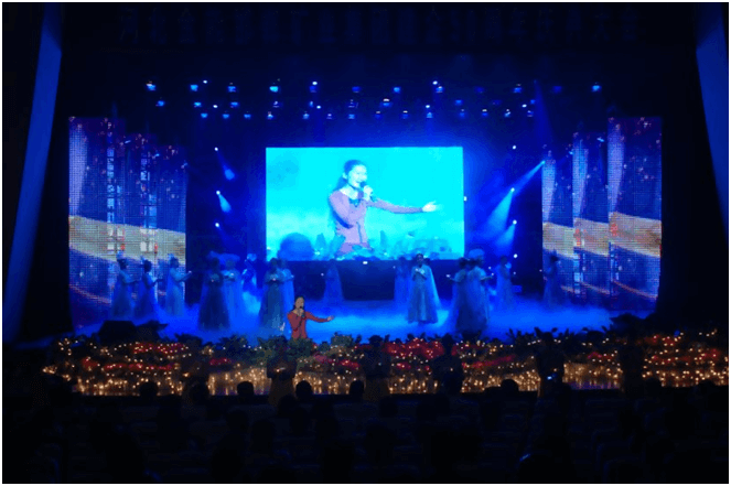 indoor stage LED display screen 2