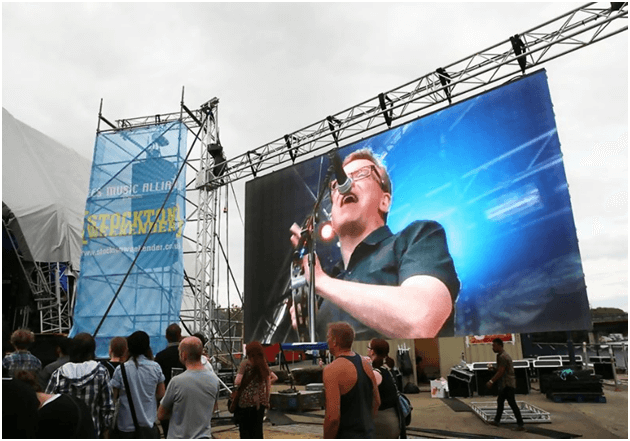 outdoor stage LED display screen