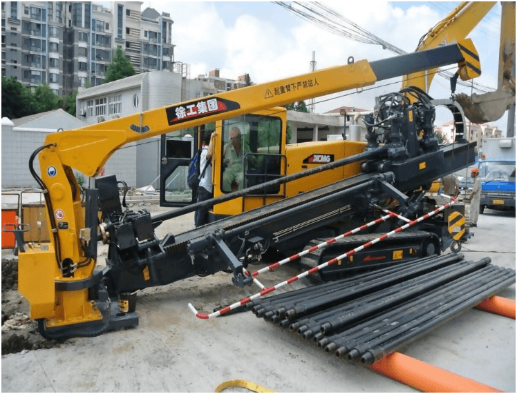 Horizontal drilling machine 3
