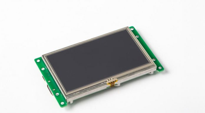 tft lcd module with touch screen